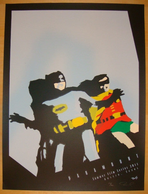"2011 ""Batman"" - Silkscreen Movie Poster by Billy Perkins"