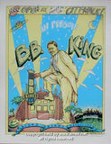 1994 BB King Silkscreen Concert Poster by Emek