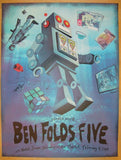 2013 Ben Folds Five - Seattle Concert Poster by Jon Smith