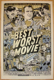 "2010 ""Best Worst Movie"" - Variant Movie Poster by Tyler Stout"