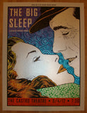 "2012 ""The Big Sleep"" - Silkscreen Movie Poster by Chuck Sperry"