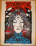 2008 The Black Crowes - Fillmore Concert Poster Forbes/D'Andrea
