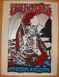2008 The Black Crowes - Fillmore Concert Poster by D'Andrea