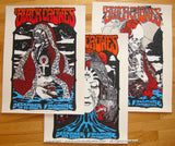 2008 The Black Crowes - Fillmore 3 Poster Set by Forbes/D'Andrea