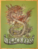 2008 The Black Keys - London Concert Poster by Dan Grzeca