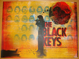 2010 The Black Keys - Boston Concert Poster by The Silent Giants