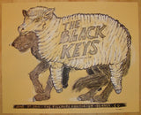 2010 The Black Keys - Denver Concert Poster by Dan Grzeca
