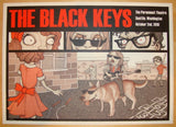 2010 The Black Keys - Seattle Concert Poster by Ben Wilson