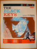 2011 The Black Keys - Brisbane Silkscreen Poster by Vastagh