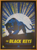 2011 The Black Keys - Merriweather Concert Poster by Todd Slater