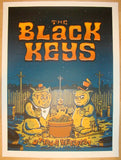 2011 The Black Keys - Ottawa Concert Poster by Matt Leunig