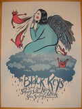 2010 The Black Keys - San Diego Concert Poster by Diana Sudyka