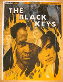 2012 The Black Keys - Detroit Concert Poster by Jon Smith