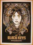 2012 The Black Keys - Melbourne I Concert Poster by Ken Taylor