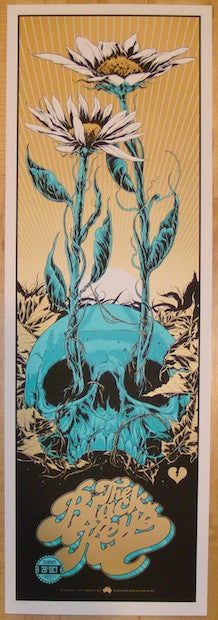 2012 The Black Keys - Perth Concert Poster by Ken Taylor