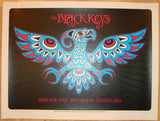 2012 The Black Keys - Seattle Concert Poster by Dave Hunter