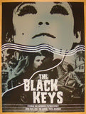 2012 The Black Keys - Tulsa Concert Poster by Third Alert Design