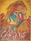 2013 The Black Keys - Louisville Concert Poster by James Flames
