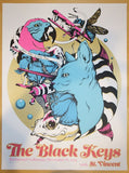 2014 The Black Keys - Richmond Concert Poster by Galen McKamy