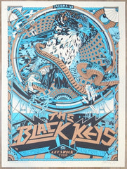 2019 The Black Keys - Tacoma Silkscreen Concert Poster by Tyler Stout