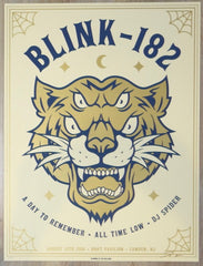 2016 Blink-182 - Camden Silkscreen Concert Poster by Ian Williams