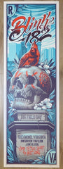 2016 Blink-182 - Richmond Silkscreen Concert Poster by Maxx242