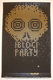 2005 Bloc Party Silkscreen Concert Poster by Todd Slater