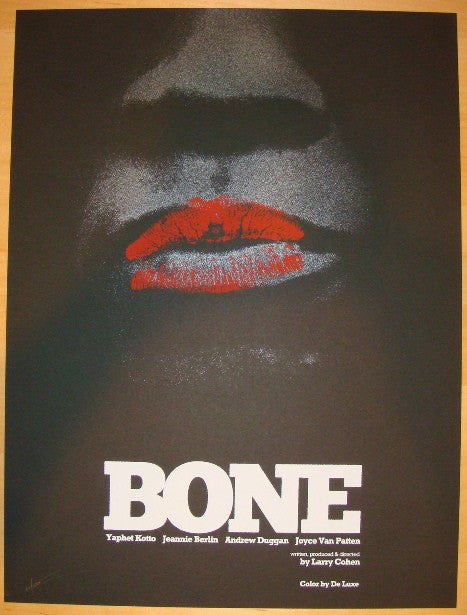 "2012 ""Bone"" - Silkscreen Movie Poster by Jay Shaw"