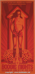 "2007 ""Boogie Nights"" - Silkscreen Movie Poster by Todd Slater"