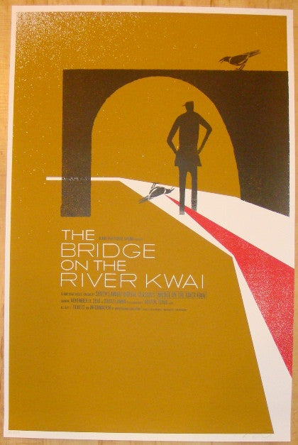 "2010 ""The Bridge On The River Kwai"" - Movie Poster by Kleinsmith"