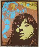 2008 Cat Power - Oct. Silkscreen Concert Poster by Todd Slater