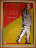 "2012 ""Citizen Kane"" - Silkscreen Movie Poster by Chuck Sperry"