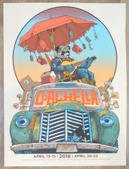2018 Coachella - Indio Silkscreen Concert Poster by Tim Doyle
