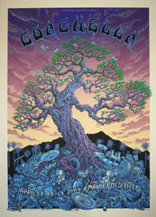 2009 Coachella - Twilight Edition Concert Poster by Emek
