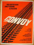 "2010 ""Convoy"" - Silkscreen Movie Poster by Olly Moss"