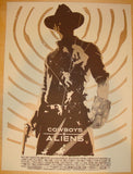 "2011 ""Cowboys & Aliens"" - Movie Poster by Janee Meadows"