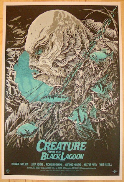 "2012 ""Creature From The Black Lagoon"" - Variant by Ken Taylor"