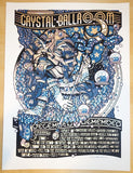 2014 Vance Joy & Spoon - Portland Silkscreen Concert Poster by Guy Burwell