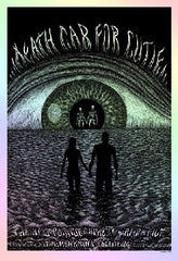 2009 Death Cab For Cutie - Foil Variant Concert Poster by Emek