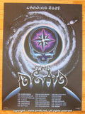 2009 The Dead - Spring Tour 09 Silkscreen Concert Poster by Emek