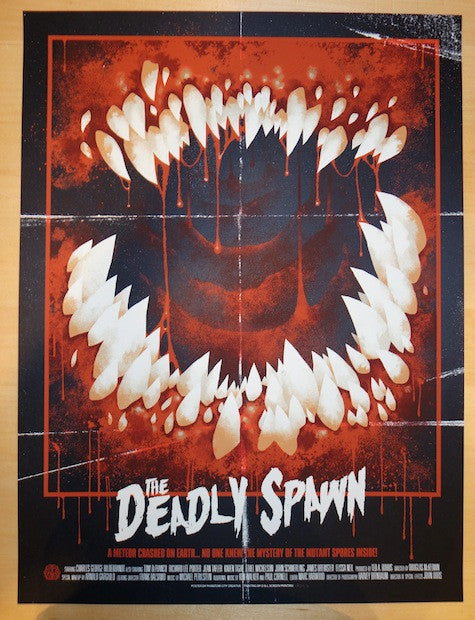 "2013 ""The Deadly Spawn"" - Movie Poster by Phantom City Creative"