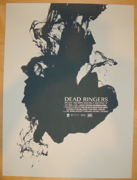 "2011 ""Dead Ringers"" - Silkscreen Movie Poster by Jay Shaw"