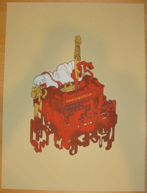 "2011 ""Deathtrap"" - Silkscreen Movie Poster by Jacob Van Loon"
