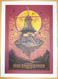 2010 The Decemberists - Australia Concert Poster by Ken Taylor