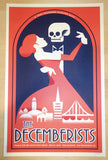 2015 The Decemberists - NYE San Francisco Concert Poster by Dan Stiles
