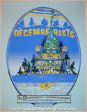 2007 The Decemberists Silkscreen Concert Poster by Guy Burwell