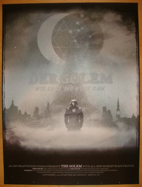 "2010 ""Der Golem"" - Silkscreen Movie Poster by The Silent Giants"