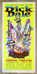 2002 Dick Dale - Philadelphia Silkscreen Concert Poster by Jeral Tidwell & Jeff Wood