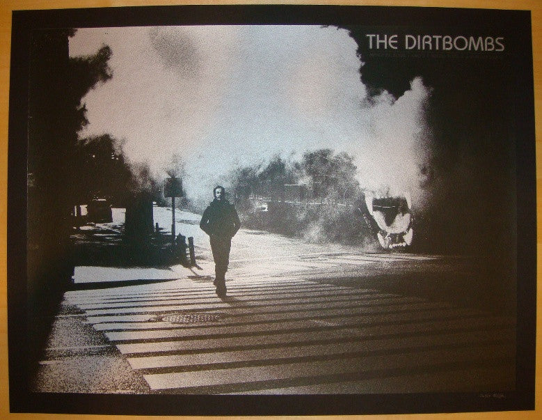 2008 The Dirtbombs - Silkscreen Concert Poster by Rob Jones