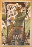 "2013 ""Django Unchained"" - Silkscreen Movie Poster by Rich Kelly"